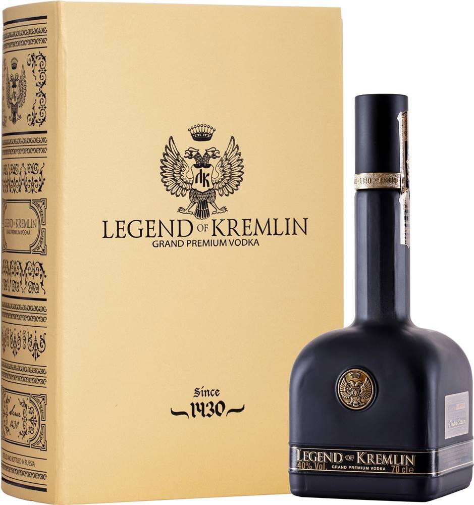 Legend of Kremlin Legend of Kremlin Gold & Black 40% 0,7l