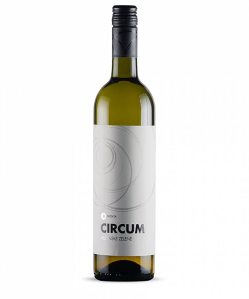 Víno NICHTA Víno NICHTA Circum Veltínske zelené  0,75l