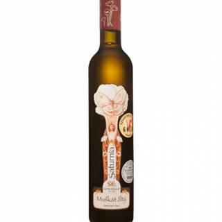 Ostrožovič Muškát žltý Kolekcia Saturnia slamové víno 0,375l