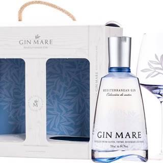 Gin Mare + pohár 42,7% 0,7l