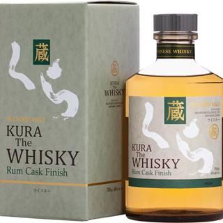 Kura Whisky Rum Cask Finish 40% 0,7l