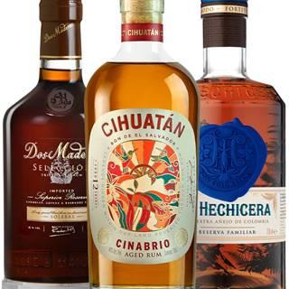 Set La Hechicera + Dos Maderas Selección + Cihuatán Cinabrio