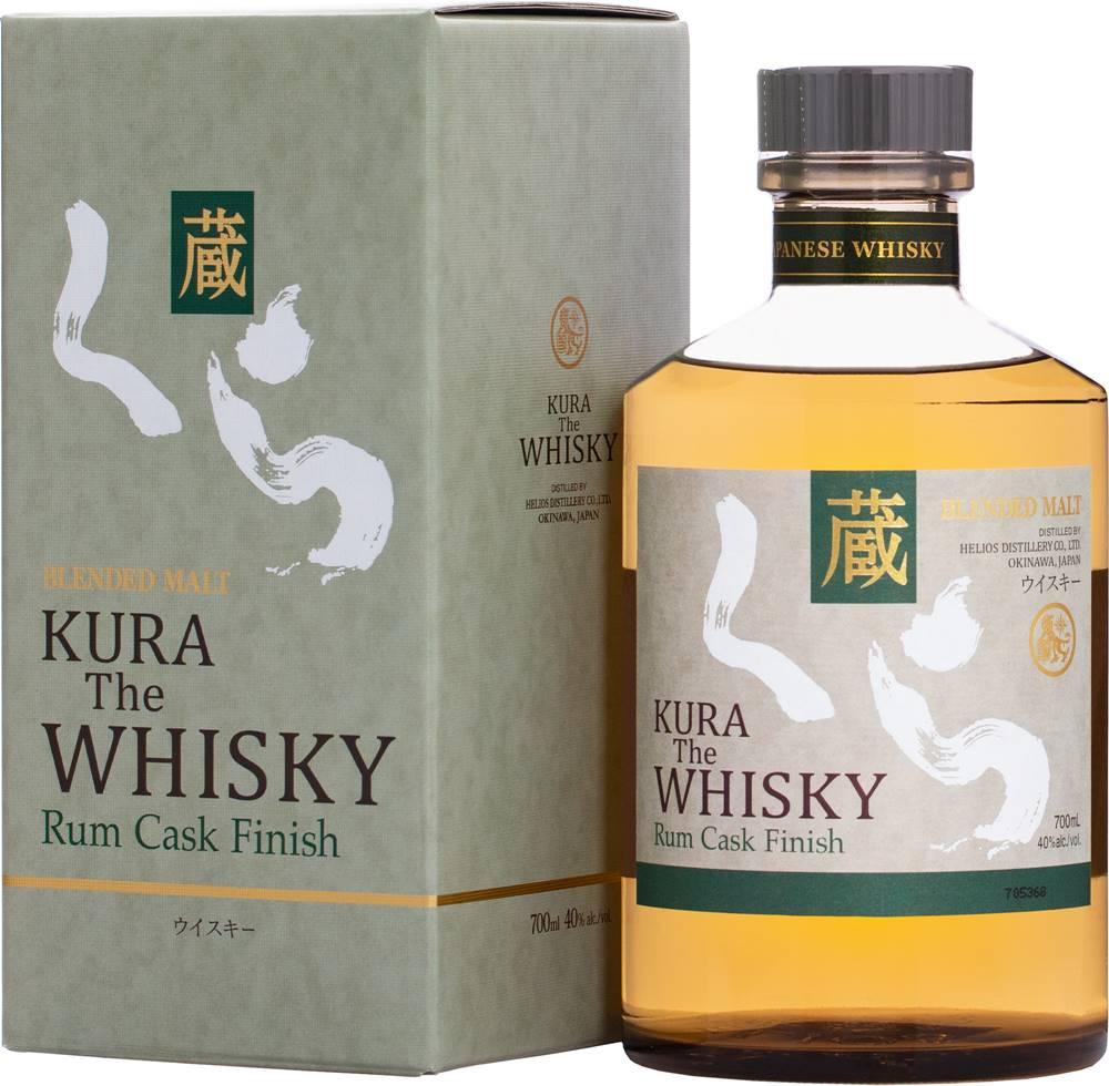 Kura Kura Whisky Rum Cask Finish 40% 0,7l