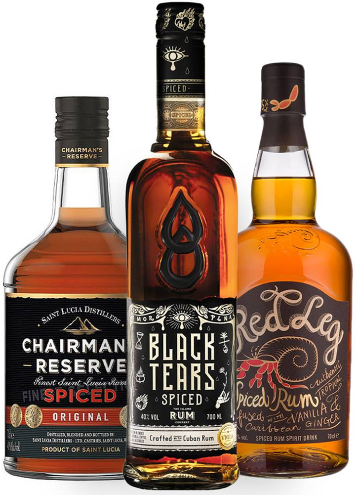 Black Tears Set Spiced - RedLeg + Black Tears + Chairman&