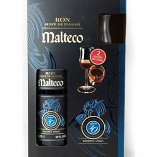 Malteco Ron 10Y + 2 poháre 0,7l (40%)