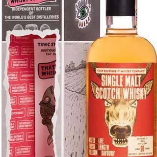 That Boutique-y Whisky Company Isle of Jura 20 ročná 48,2% 0,5l