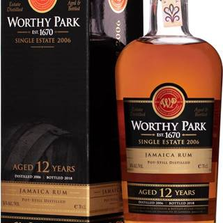 Worthy Park Special Cask 12 ročný 56% 0,7l