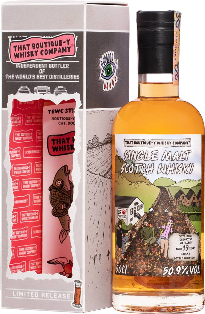 That Boutique-y Whisky Company That Boutique-y Whisky Company Glengoyne 19 ročná 50,9% 0,5l