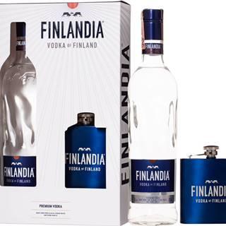 Finlandia + ploskačka 40% 0,7l