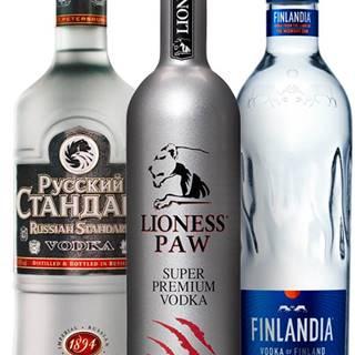 Set Finlandia + Lioness Paw + Russian Standard