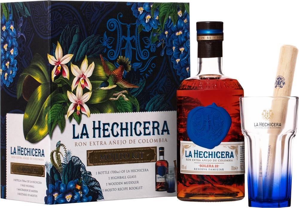 La Hechicera La Hechicera Rum Mojito Kit 40% 0,7l