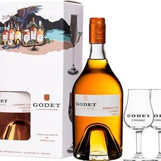 Godet VS Classique + 2 poháre
