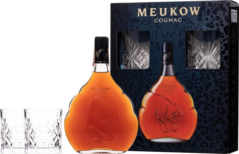 Meukow Meukow VSOP Superior + 2 poháre