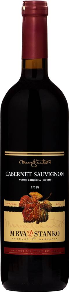 Mrva & Stanko Mrva & Stanko Cabernet Sauvignon 2018 13,5% 0,75l