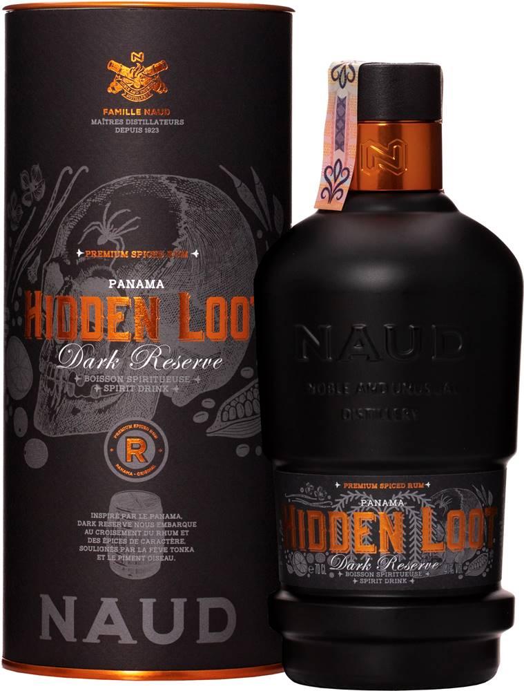 Naud Naud Hidden Loot Dark Reserve 41% 0,7l