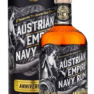 Austrian Empire Navy Rum Anniversary 40% 0,7l