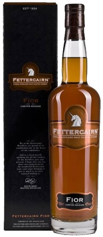 Excellia Fettercairn Fior Limited Release 42% 0,7l