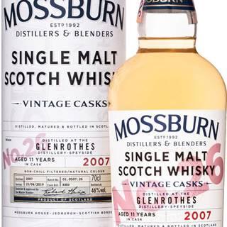 Mossburn Vintage Casks Glenrothes 11 ročná No.26 46% 0,7l