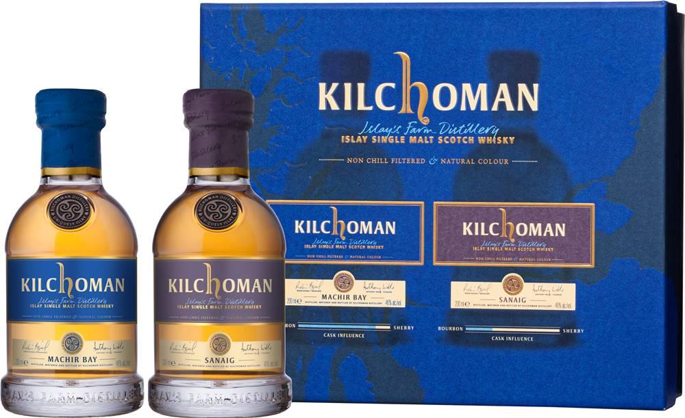Kilchoman Kilchoman Duo Set 2 x 0,2l 46% 0,4l