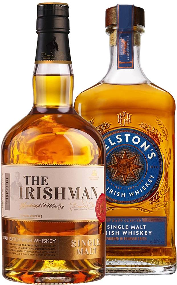 Gelston's Set The Irishman Single Malt + Gelstons Single Malt