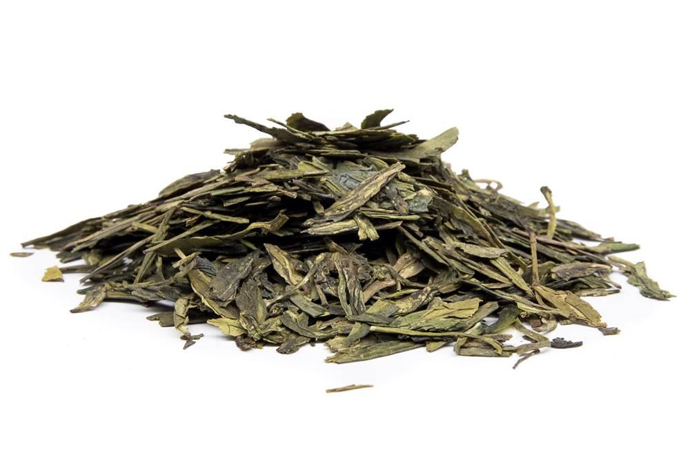 Manu tea CHINA LUNG CHING BIO - zelený čaj, 10g
