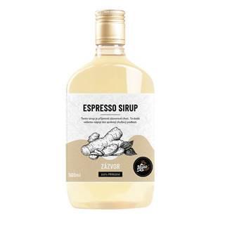 ESPRESSO SIRUP ZÁZVOR - 500 ml