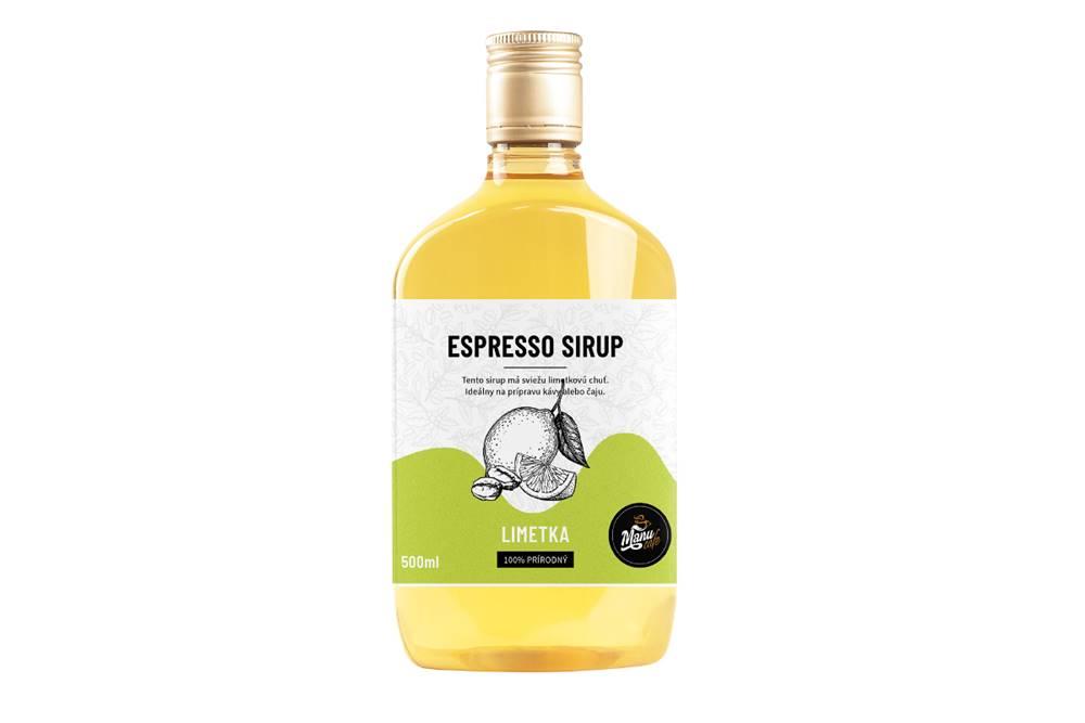 Manu cafe ESPRESSO SIRUP LIMETA - 500 ml