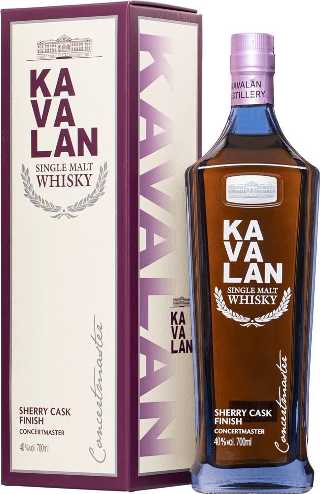 Kavalan Kavalan Concertmaster Sherry Cask 40% 0,7l