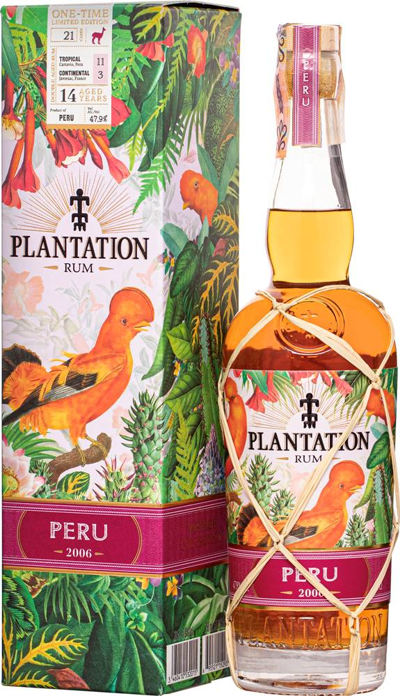 Plantation Plantation Peru 2006 47,9% 0,7l