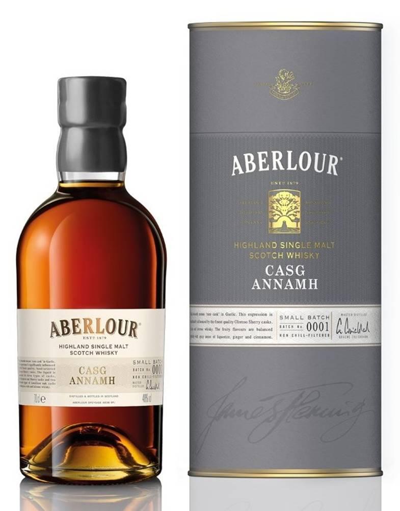 Aberlour Aberlour Casg Annamh Small Batch 0001 0,7l 48%