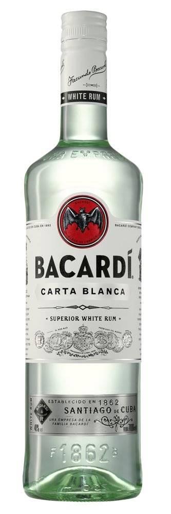 Bacardi Carta Blanca 0,7l 3...