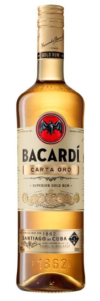 Bacardi Carta Oro 0,7l 37,5%