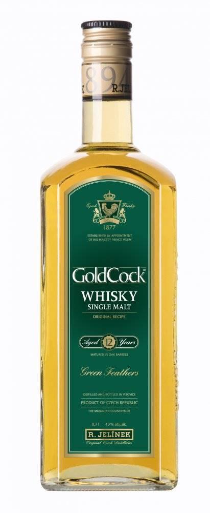 Rudolf Jelínek Gold Cock 12y 0,7l 43%