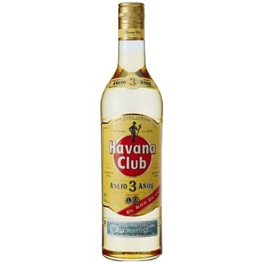 Havana Club Anejo 3y 0,7l 3...