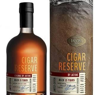 Brandy Jatone Cigar Reserve XO 0,7l 40% Tuba