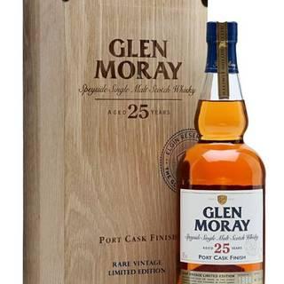 Glen Moray Portcask 25y 0,7l 43%