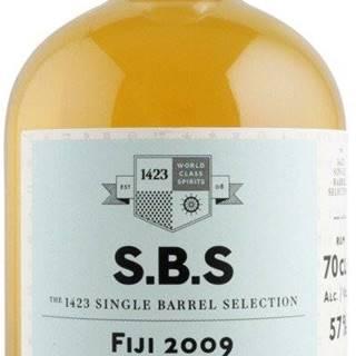 S.B.S Fiji 11y 2009 0,7l 57% L.E. / Rok lahvování 2020