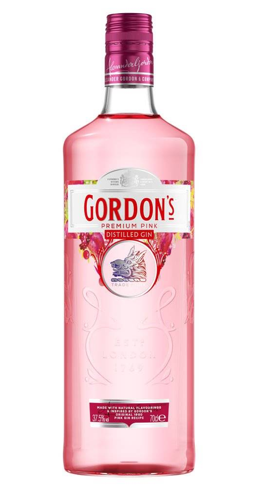 Gordon's Premium Pink gin 0...
