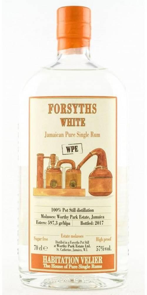 Velier Habitation Velier FORSYTHS WHITE WPE Jamaica Pure Single Rum 0,7l 57%