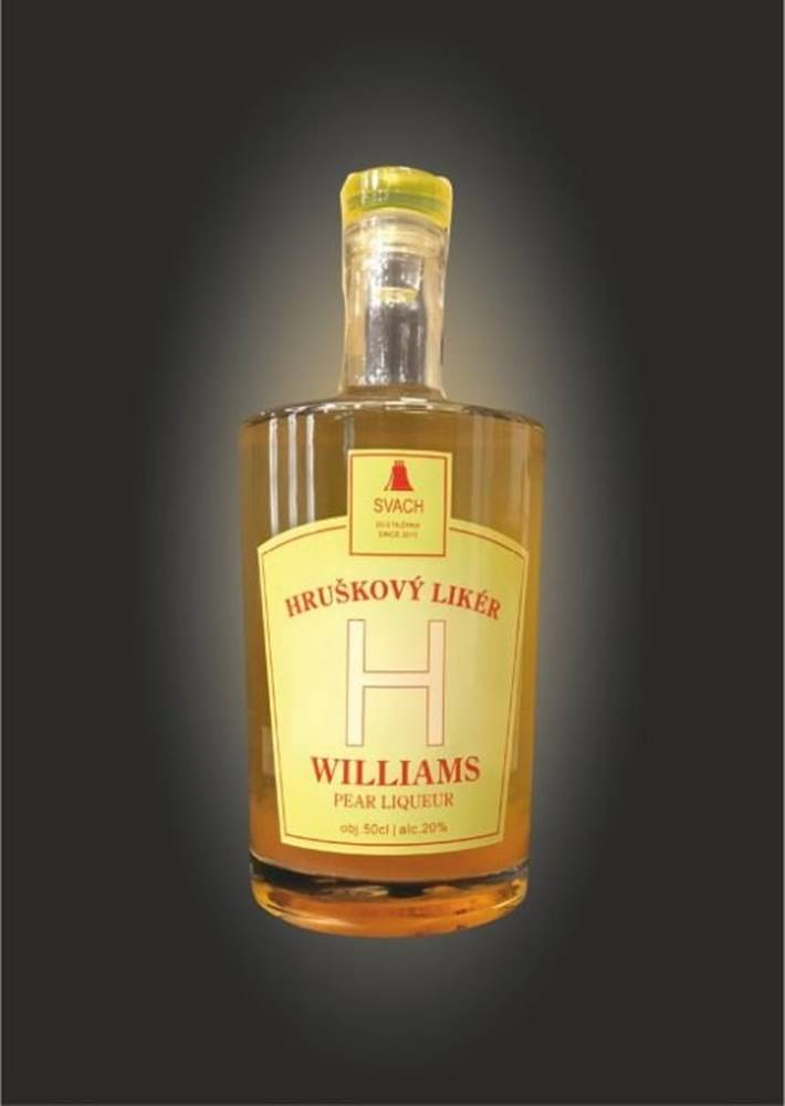 Svachovka Hruškový likér Williams 0,5l 20%