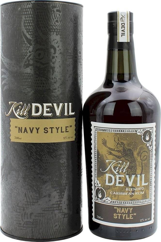 Silver Seal Hunter Laing Kill Devil Navy Style 0,7l 57% GB