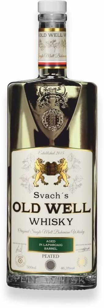 Svachovka Svach's Old Well Whisky Laphroaig 0,5l 46,3% GB