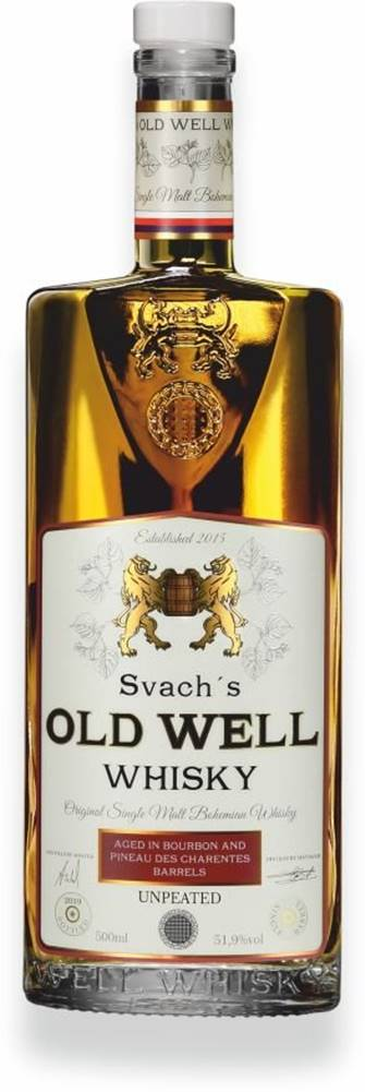 Svachovka Svach's Old Well Whisky Pineau 0,5l 51,9% GB