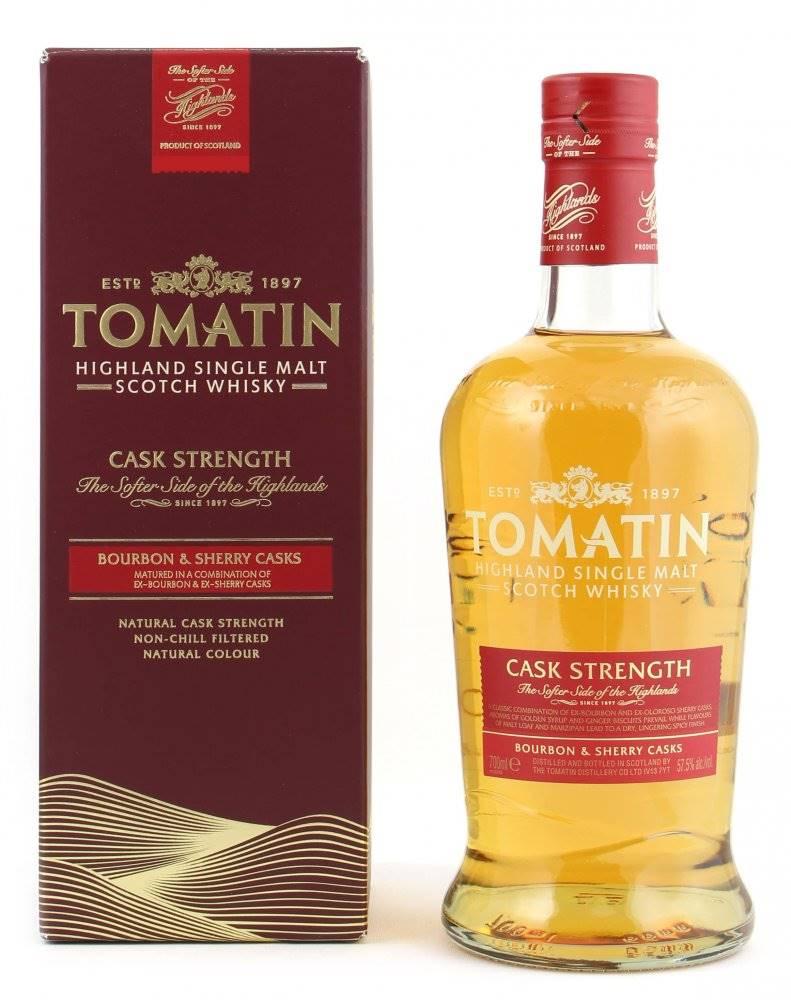 Tomatin Tomatin Cask Strength 0,7l 57,5%
