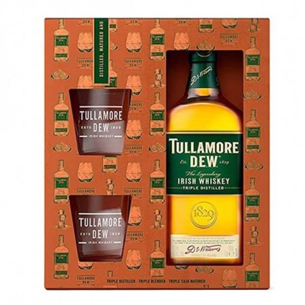Tullamore Dew Tullamore Dew 0,7l 40% + 2x sklo GB