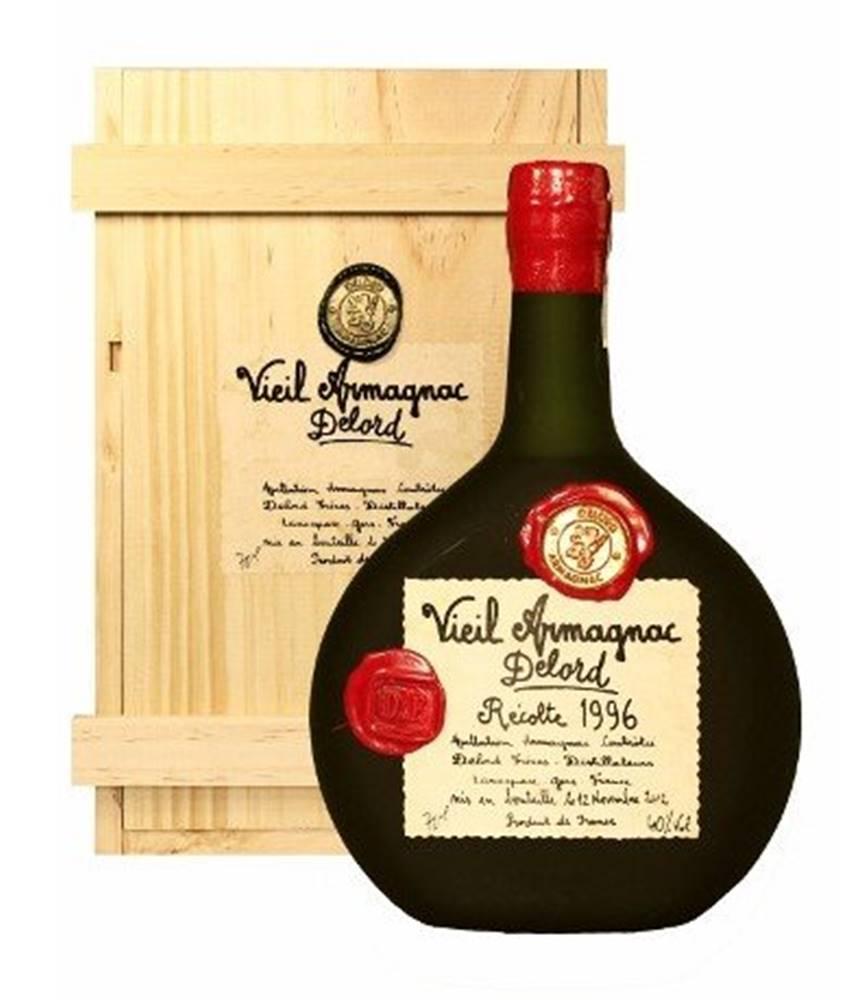 Delord Armagnac Delord 1999 0,7l 40% Dřevěný box