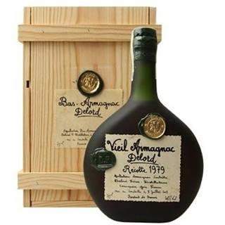 Armagnac Delord 1979 0,7l 40% Dřevěný box