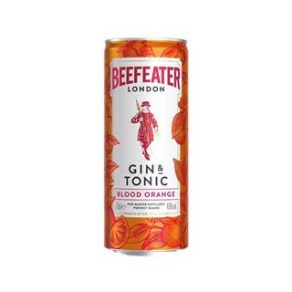 Beefeater Gin&Tonic Blood Orange 0,25l 4,9%