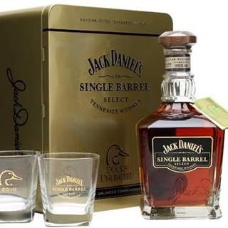 Jack Daniel's Single Barrel Ducks Unlimited 2010 0,75l 47% + 2x sklo Plech