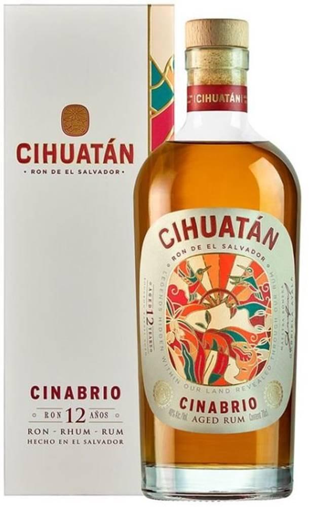 Cihuatán Cihuatán Cinabrio 12y 0,7l 40%